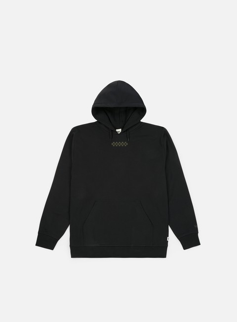 felpe vans overtime hoodie black