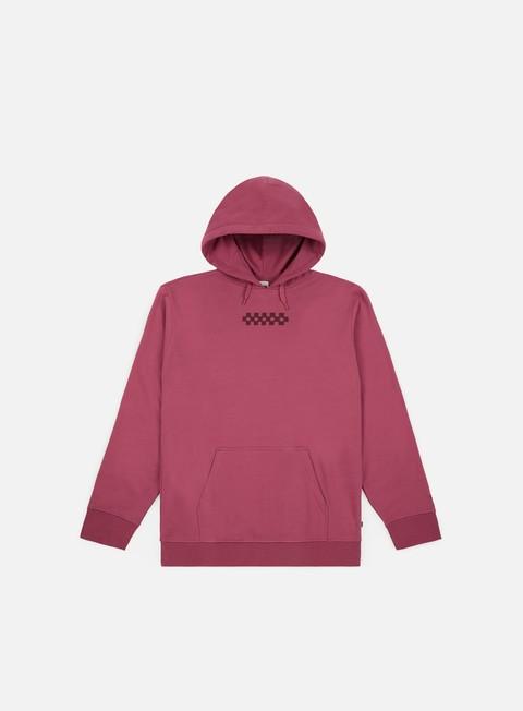 felpe vans overtime hoodie dry rose