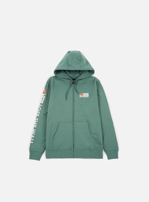 Hooded Sweatshirts Vans Peaks Camp FZ Hoodie