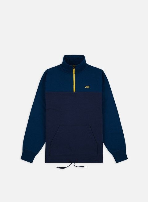 Outlet e Saldi Felpe con Zip Vans Retro Active Quarter Zip Sweatshirt