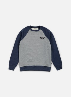 Vans - Rutland Crewneck, Concrete Heather/Dress Blues Heather 1