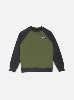 Vans - Rutland Crewneck, Rifle Green/Black Heather