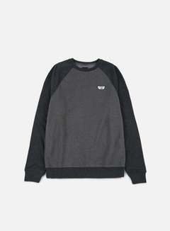 Vans - Rutland II Crewneck, Asphalt Heather/Black Heather