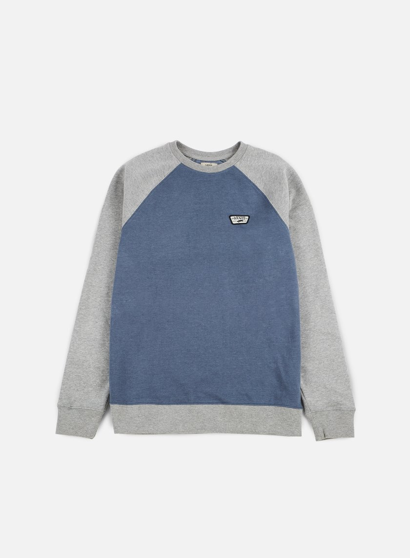 Vans - Rutland II Crewneck Blue Mirage/Heather Grey - VA314PKWN Sweatshirts Crewneck