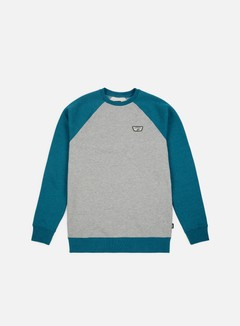 Vans - Rutland III Crewneck, Cement Heather/Corsaire