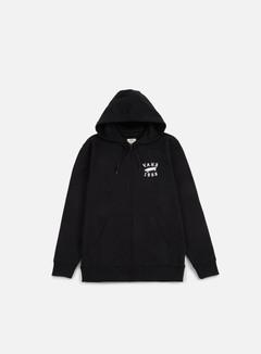 Vans - Stitched Zip Hoodie, Black 1