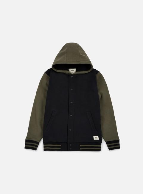 Hooded Jackets Vans University II Sherpa Hoodie