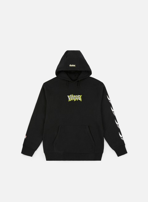 felpe vans vans x marvel pullover hoodie black