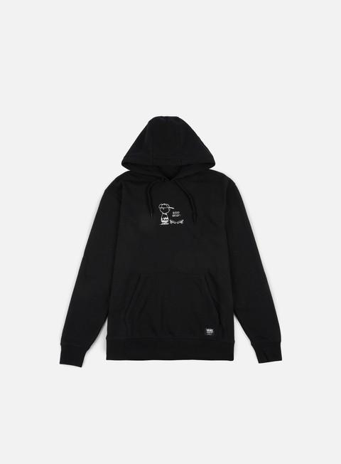 felpe vans vans x peanuts hoodie black