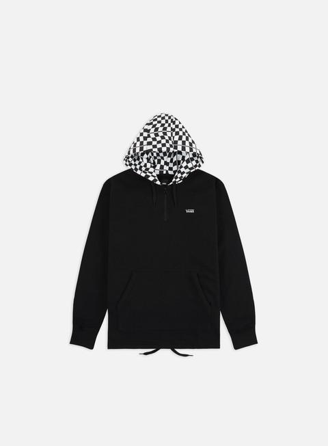 Zip Sweatshirts Vans Warp Check Quarter Zip Hoodie