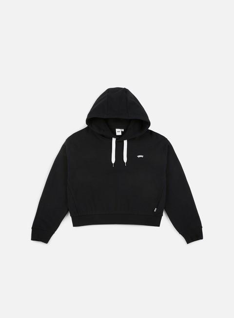 felpe vans wmns boulder hoodie black