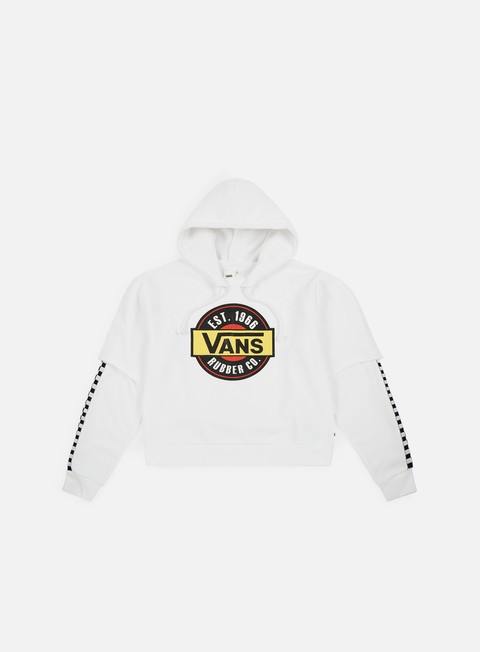 Sale Outlet Hooded Sweatshirts Vans WMNS Chromo Twofer Hoodie