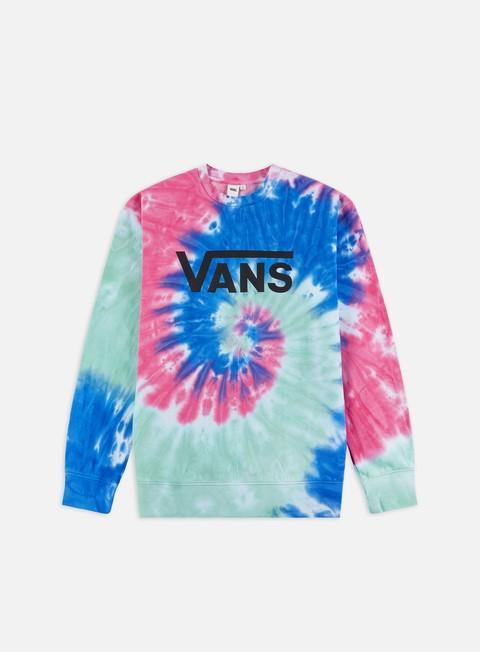 Crewneck Sweatshirts Vans WMNS Dye Job Crewneck