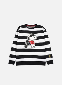 Vans - WMNS Joe Cool Crewneck, White/Black 1
