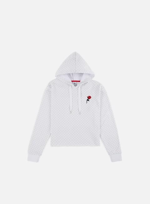 Hooded Sweatshirts Vans WMNS Leila Check Hoodie