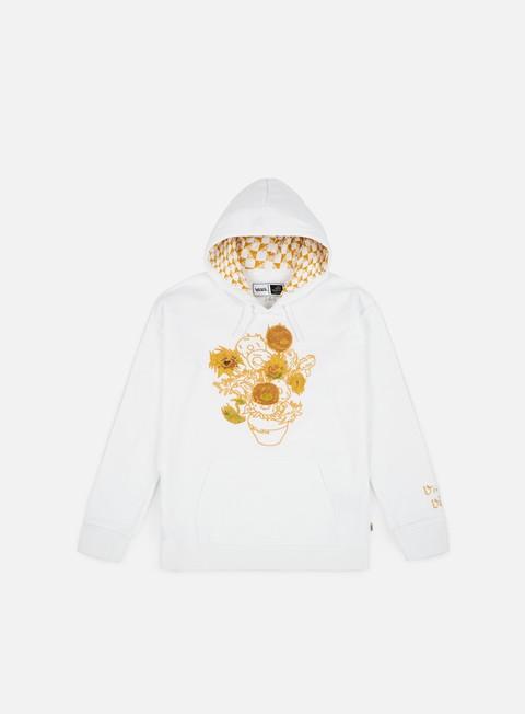 felpe vans wmns sunflower hoodie white