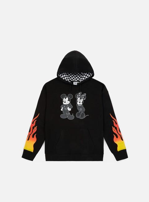 felpe vans wmns vans x disney punk mickey hoodie black