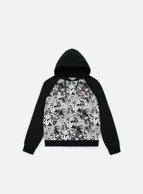 felpe vans wmns vans x marvel marvel women hoodie black
