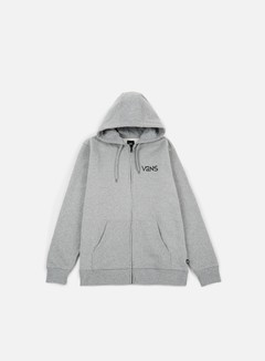 Vans - Yusuke Outdoor FZ Hoodie, Cement Heather 1