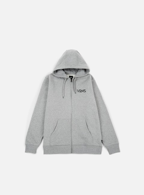 felpe vans yusuke outdoor fz hoodie cement heather
