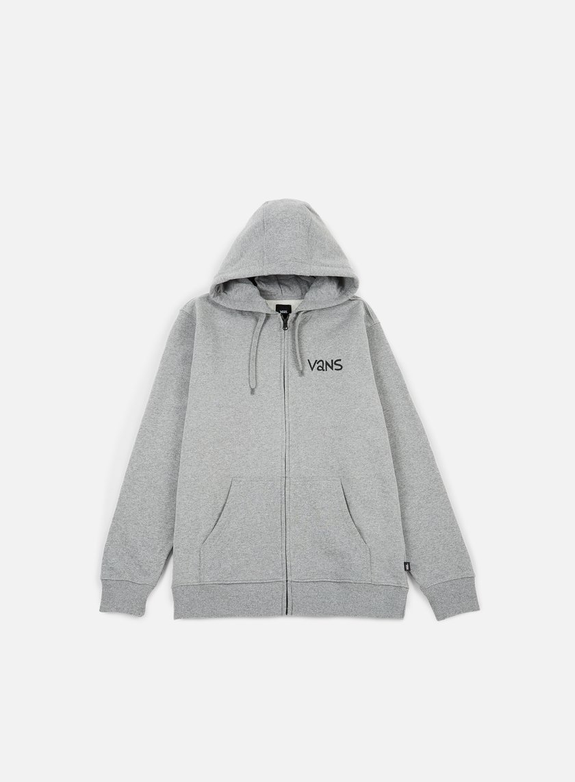 Vans - Yusuke Outdoor FZ Hoodie, Cement Heather