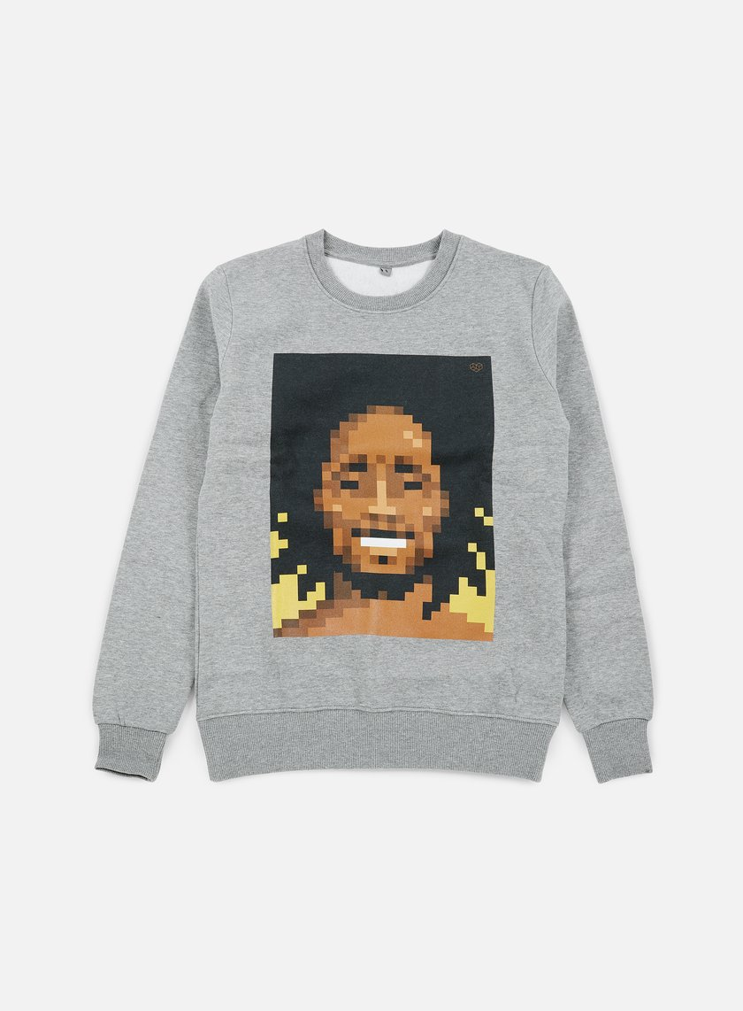 Very Important Pixels - Bob Crewneck, Sports Grey