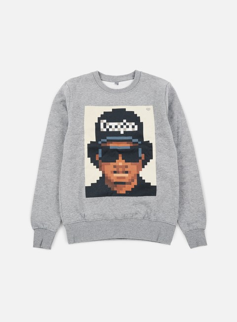 felpe very important pixels eazy crewneck sports grey