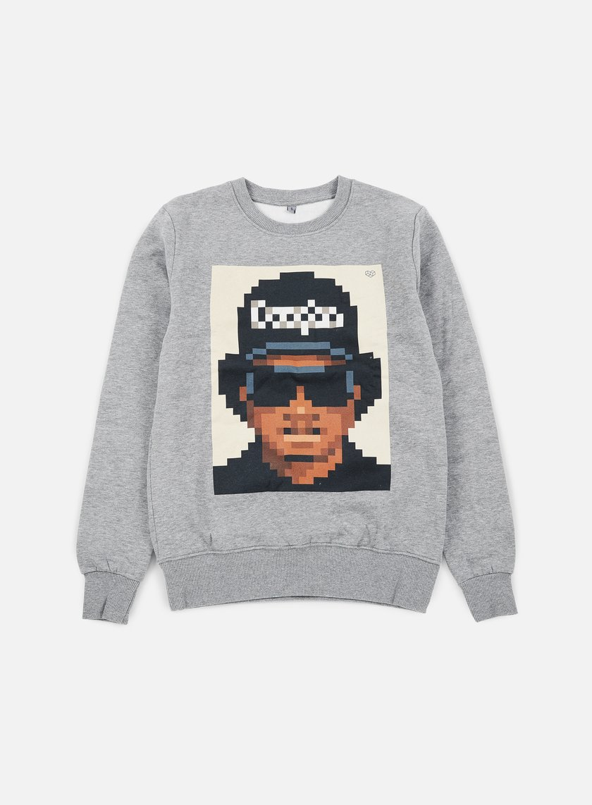 Very Important Pixels - Eazy Crewneck, Sports Grey