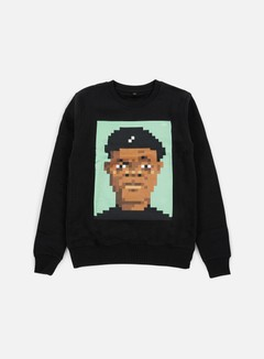 Very Important Pixels - Samuel Crewneck, Black 1