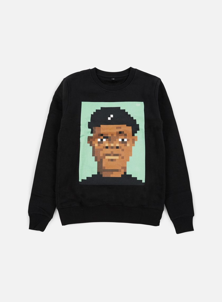 Very Important Pixels - Samuel Crewneck, Black