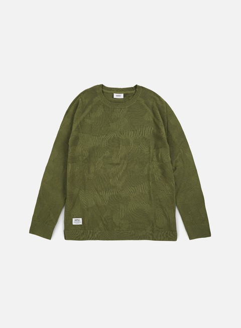 Sale Outlet Sweaters and Fleeces Wesc Camo Knitter Sweater