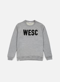 Wesc - Goran Crewneck, Grey Melange 1