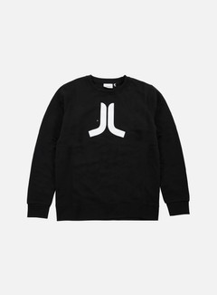 Wesc - Icon Crewneck, Black/White