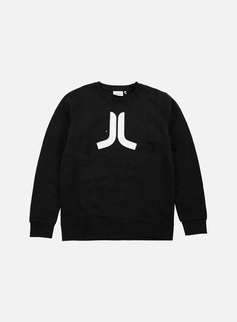 felpe wesc icon crewneck black white