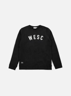 Wesc - W E S C Crewneck, Black 1