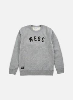 Wesc - W E S C Crewneck, Grey Melange