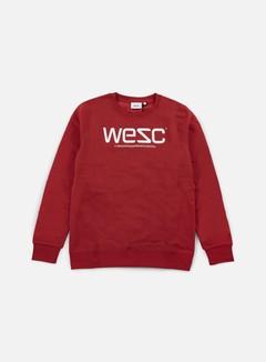 Wesc - Wesc Crewneck, Pompejan Red/White 1
