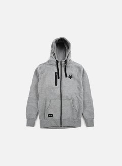 Zoo York - Chad Full Zip Hoody, Dark Grey 1