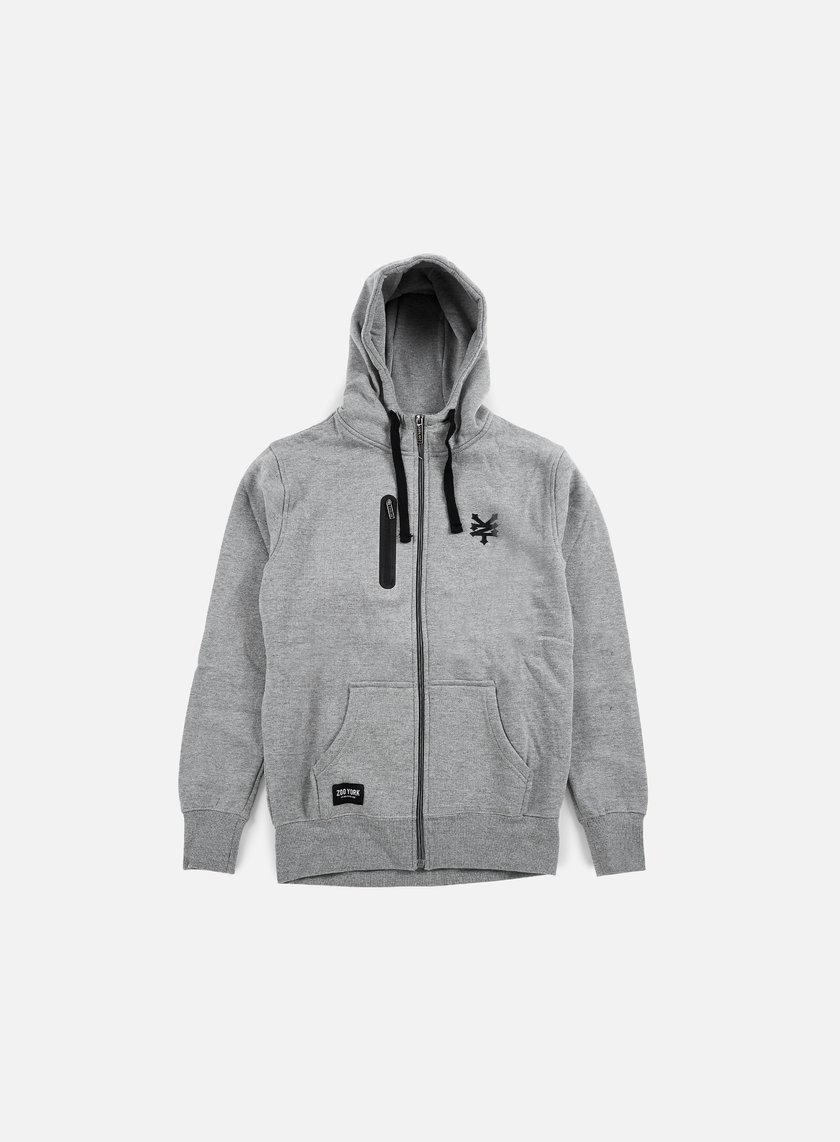 Zoo York - Chad Full Zip Hoody, Dark Grey