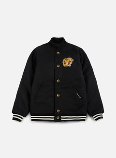 Acapulco Gold - Flying Tiger Baseball Jacket, Black 1