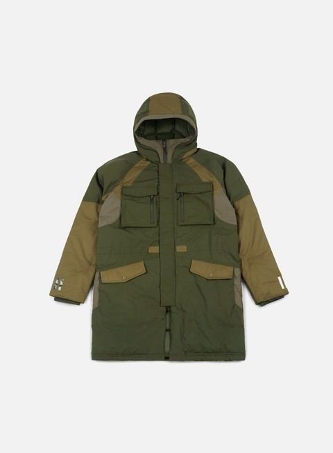 giacche adidas by white mountaineering wm down jacket night cargo