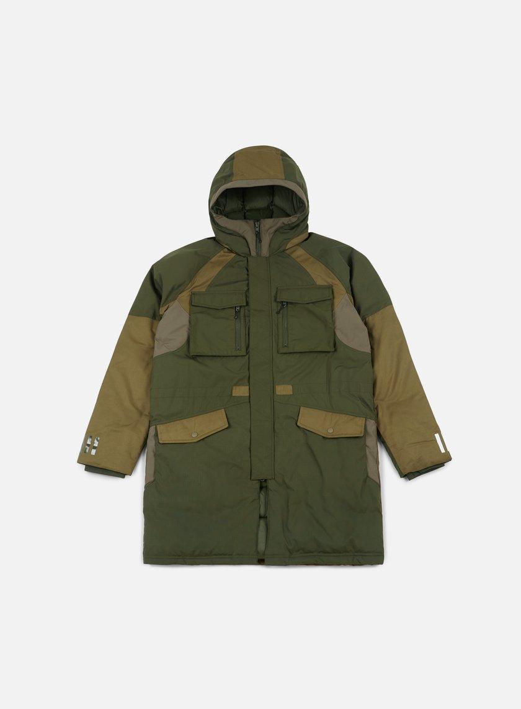 giacche adidas by white mountaineering wm down jacket night cargo