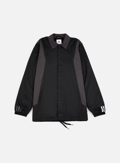 giacche adidas by white mountaineering wm long bench jacket black