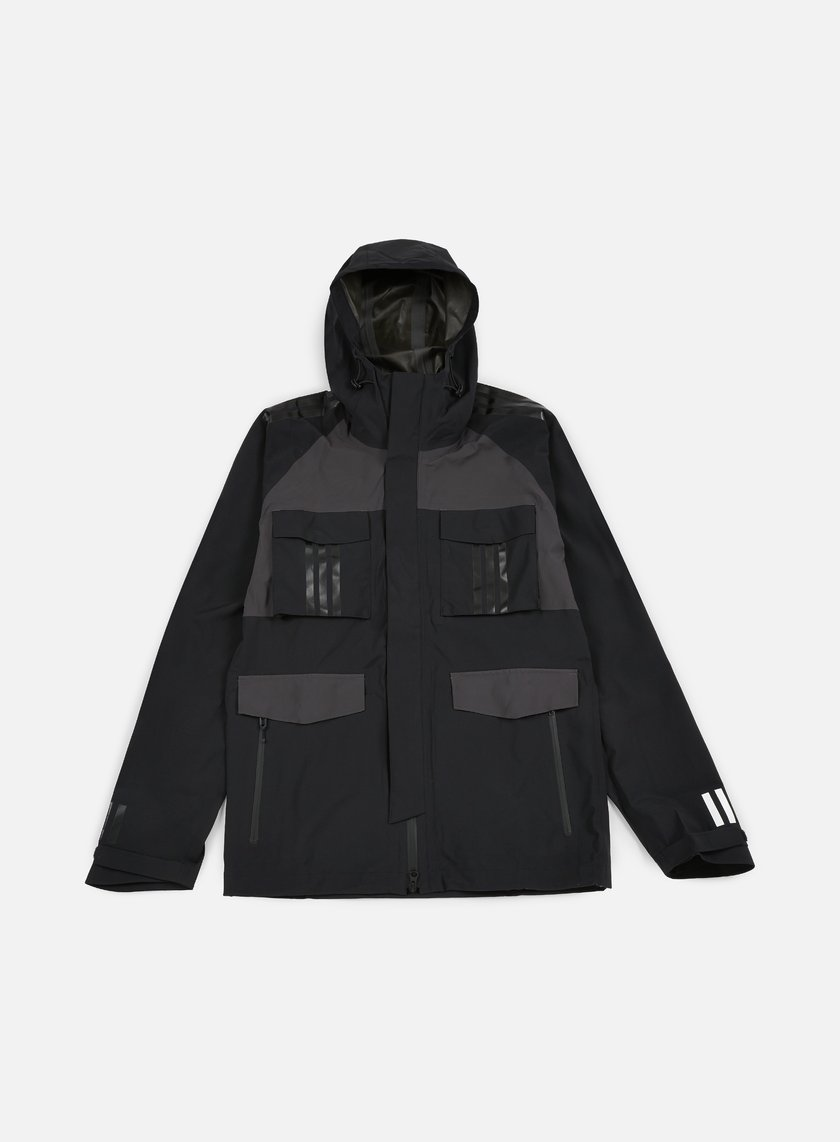 Adidas by White Mountaineering - WM Shell Jacket, Black