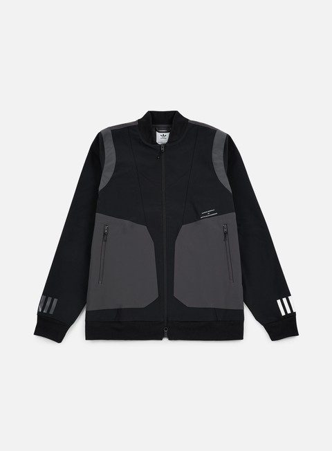 giacche adidas by white mountaineering wm varsity jacket black