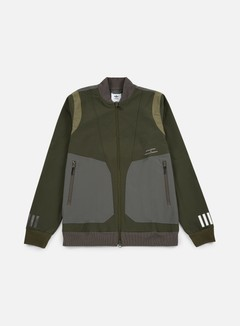 Adidas by White Mountaineering - WM Varsity Jacket, Night Cargo 1