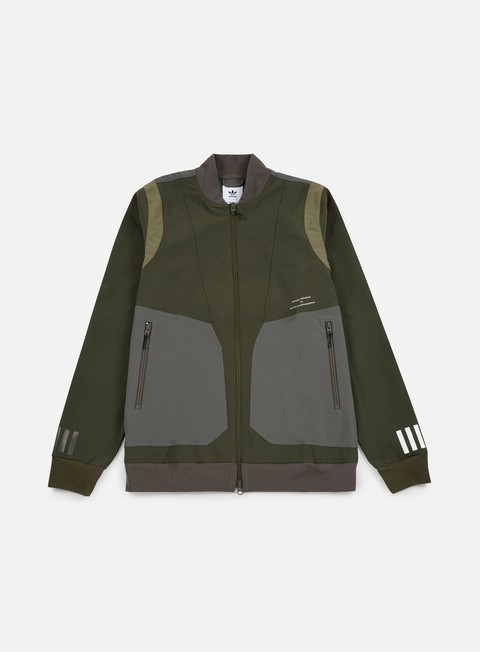 giacche adidas by white mountaineering wm varsity jacket night cargo