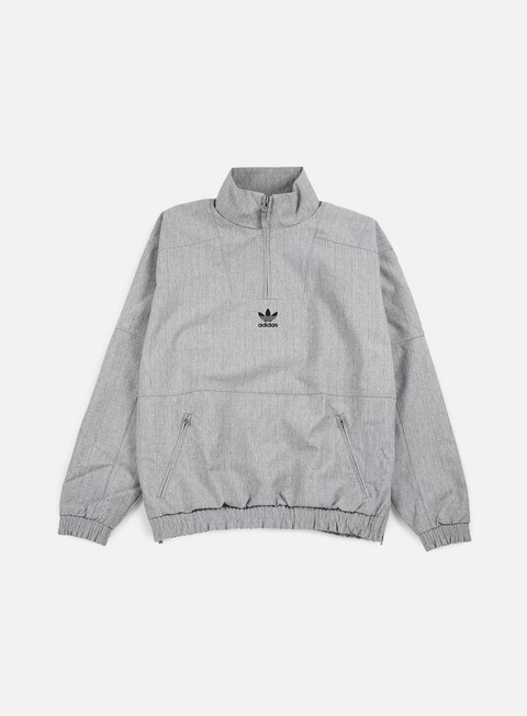 Light Jackets Adidas Originals 1/2 Zip Windrunner