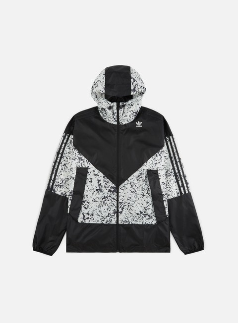 Hooded Jackets Adidas Originals Aop Karkaj Windbreaker