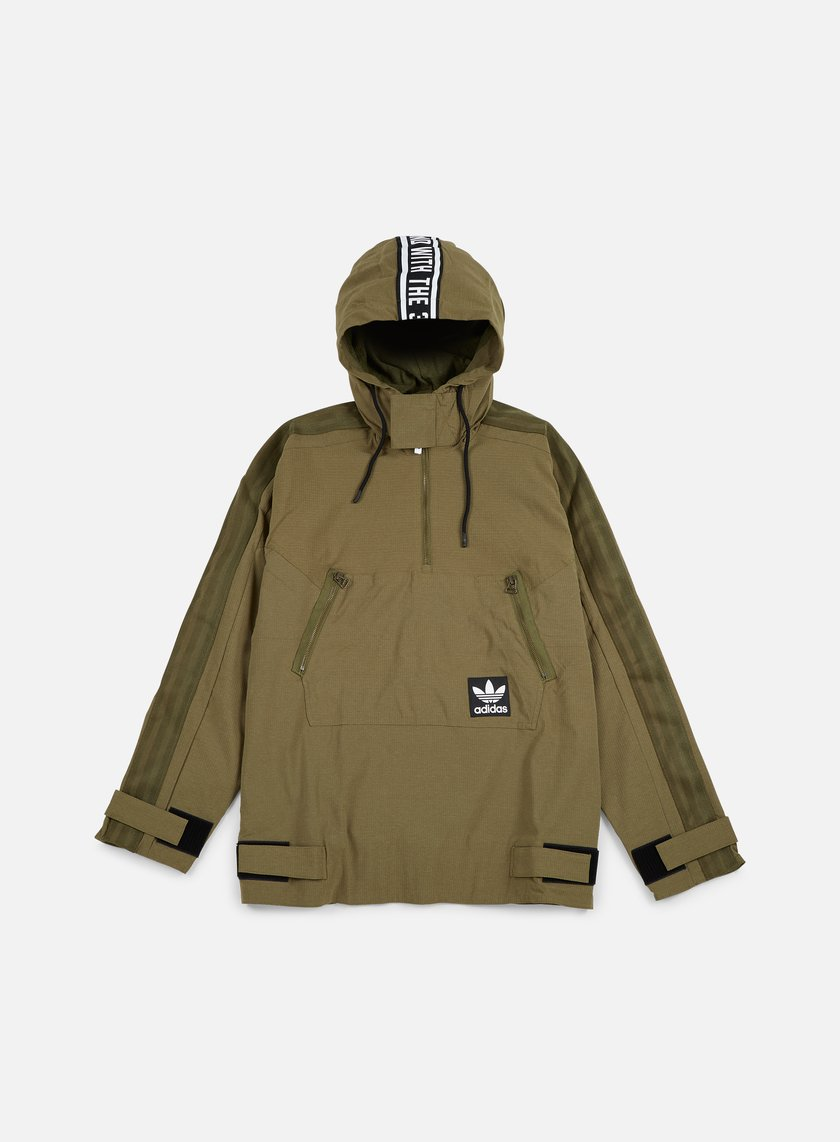 Adidas Originals - Brand Windbreaker, Olive Cargo